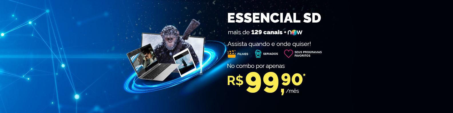 NET Fácil SD no combo por R$59,90*